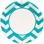 Teal Chevron